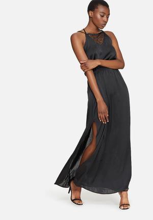 Vero Moda Mia Long Dress Occasion Black