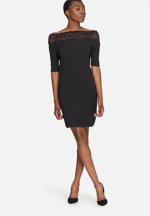Vero Moda Lacy Dress Occasion Black