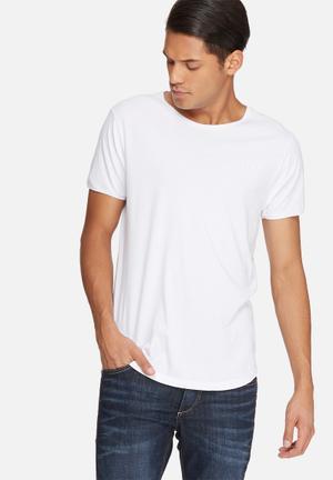 Sergeant Pepper Logo Regular Fit Tee T-Shirts & Vests White