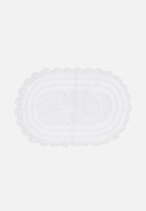 Sixth Floor Crochet Bathmat 100% Cotton