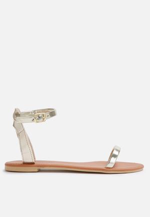 Dailyfriday Sab Sandals & Flip Flops Gold