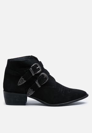 Vero Moda Sisse Suede Boot Black