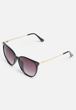 Pieces Tanya Eyewear Black & Gold