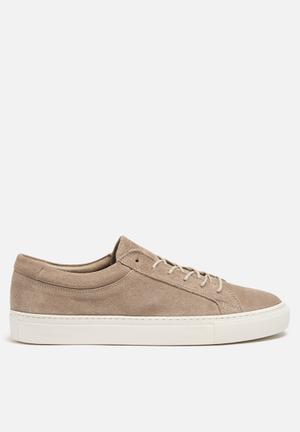 Jack & Jones Footwear & Accessories Galaxy Suede Sneaker Beige