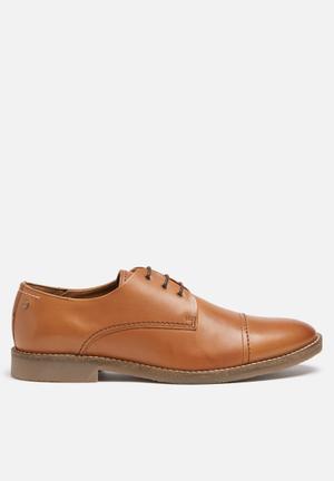 Jack & Jones Footwear And Accessories Billy Leather Shoe Cognac