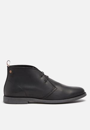 Jack & Jones Footwear & Accessories Walpha Leather Chukka Boot Black