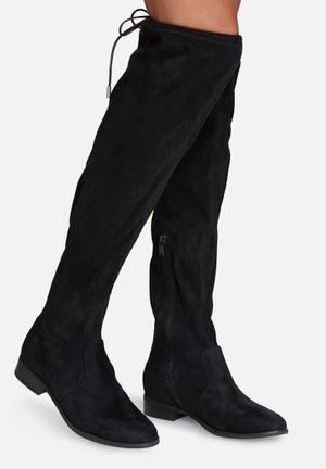 ONLY Reese Knee High Boot Black