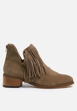 Vero Moda Laure Suede Boot  Camel