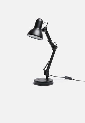 Present Time Hobby Desk Lamp Lighting Steel