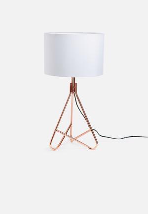 Nolden Bros Copper Table Lamp Lighting