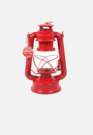 Temerity Jones Utility Red Storm Lamp Lighting Metal