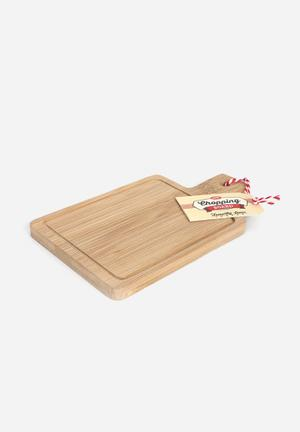 Temerity Jones Utility Mini Chopping Board Kitchen Accessories Wood & Rope
