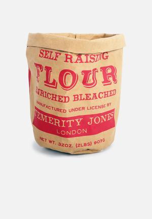 Temerity Jones Large Utility Storage Bag 98% Kraft Paper & 2% Sewing String