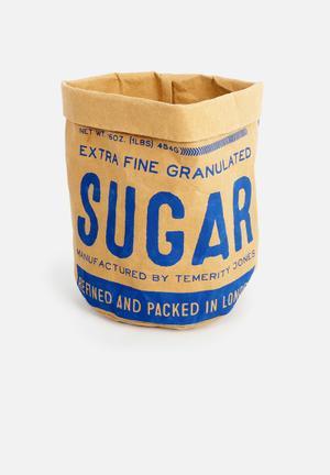 Temerity Jones Small Utility Storage Bag 98% Kraft Paper & 2% Sewing String