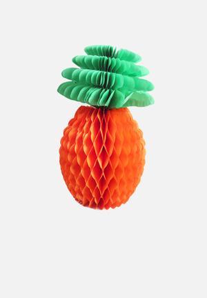 Temerity Jones Pineapple Honeycomb Decoration Partyware Paper