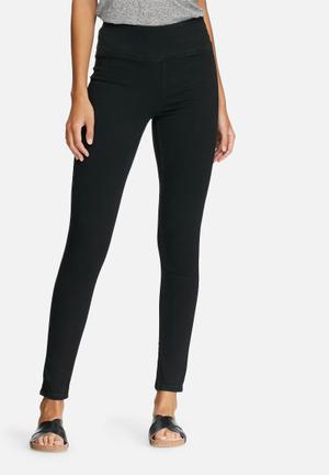 Pieces Betty High Waist Jeggings Jeans Black
