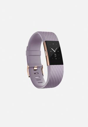 Fitbit Fitbit Charge 2 Fitness Trackers & Accessories Lavender Rose Gold