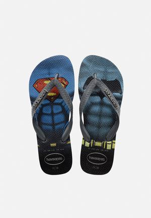 Havaianas Men's Batman Vs Superman Sandals & Flip Flops Blue & Black