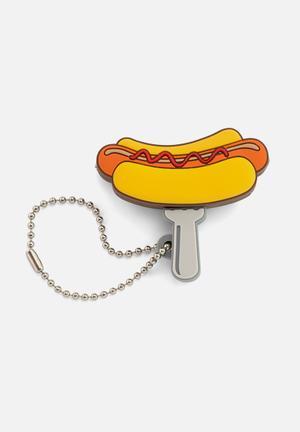 Mustard  Fast Food Audio Splitter Phone Accessories & USBs Plastic