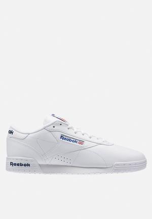 Reebok Exofit Lo Sneakers Int-white / Royal Blue