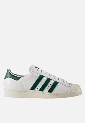 Adidas Originals Superstar 80's Sneakers White / Collegiate Green / Gold Met
