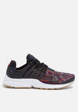 Nike W Air Presto JCRD 'Beautiful Powerful' Sneakers Black / Hot Lava / Gum