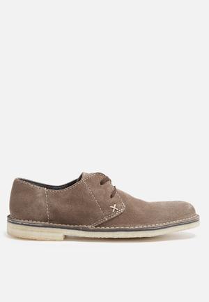 Grasshoppers Desert Formal Shoes Brown