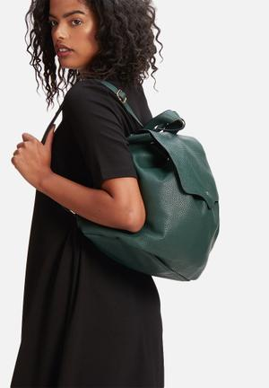 Glamorous Flap Over Backpack Bags & Purses Green