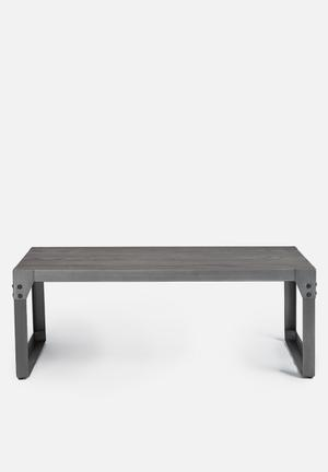 Sixth Floor Factory Coffee Table Grey Brush