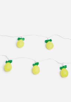 Temerity Jones Pineapple String Lights Partyware