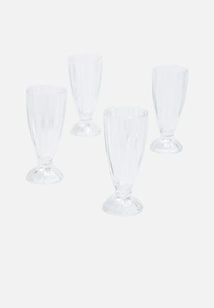 Temerity Jones Milk Shake Glasses Drinkware & Mugs Glass