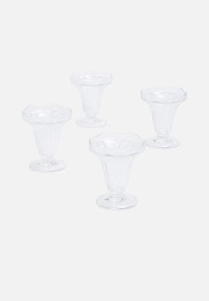 Temerity Jones Sundae Glasses Drinkware & Mugs Glass