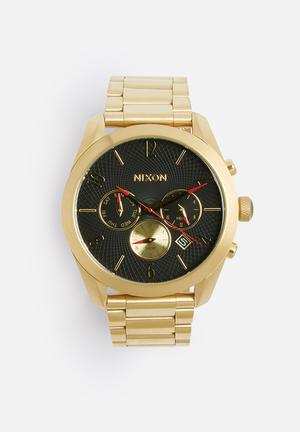 Nixon Bullet Watches Gold
