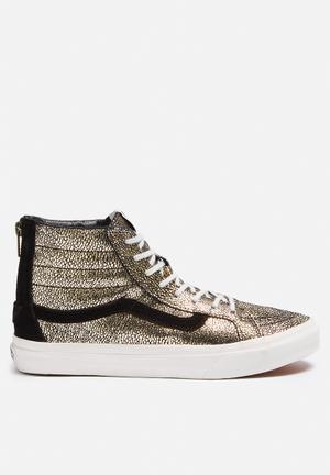 Vans SK8-Hi Slim Sneakers  Blanc Gold / De Blanc