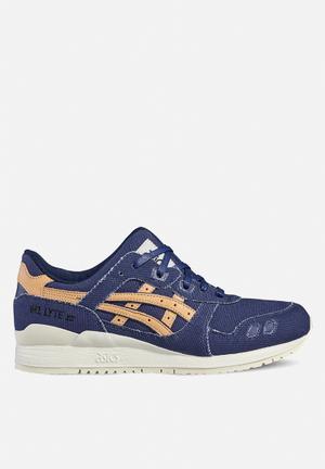 Asics Tiger Gel-Lyte III Sneakers  Indigo Blue / Tan