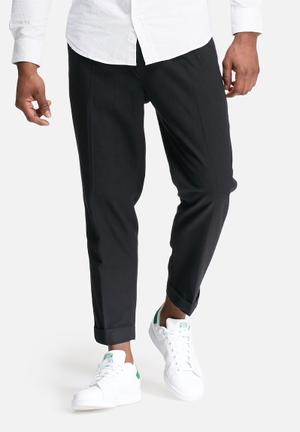 Jack & Jones Jeans Intelligence Quattro Cropped Pant Black