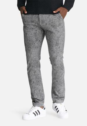 Only & Sons Fisher Trouser Pants & Chinos Grey