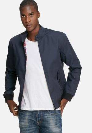Only & Sons Odger Harrington Jackets Navy