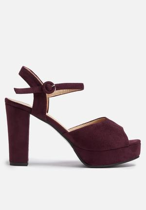 Dailyfriday Victoria Heels Plum