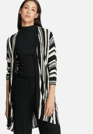 ONLY Boston Cardigan Knitwear Black & White