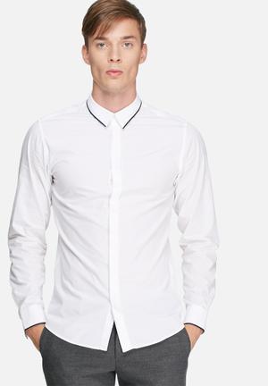 Selected Homme Porter Slim Shirt White