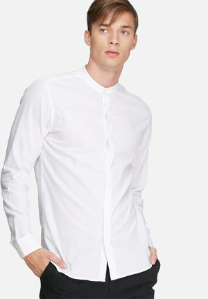 Selected Homme Timmy Regular Fit Shirt White
