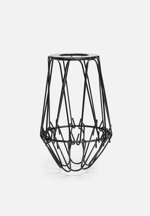 Temerity Jones Small Cage Wire Lamp Shade Lighting Metal
