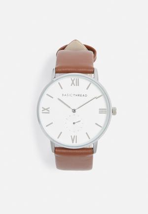 Basicthread Aivery Watches Brown