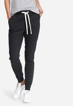 Noisy May Loui Sweat Pants Bottoms Black