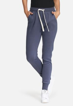 Noisy May Loui Sweat Pants Bottoms Blue