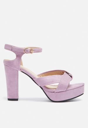 Dailyfriday Shannon Heels Lilac