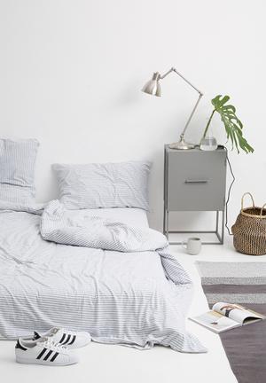 Sixth Floor Stripe Jersey Cotton Set Bedding 100% Cotton