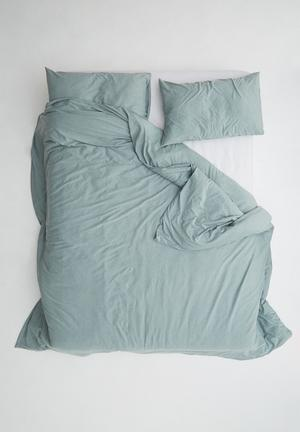 Sixth Floor Jersey Cotton Duvet Set Bedding 100% Cotton