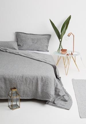 Sixth Floor Linen Duvet Set Bedding 100% Linen